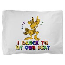 Dancing Cat Pillow Sham