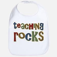 Teaching Rocks Back to School Bib