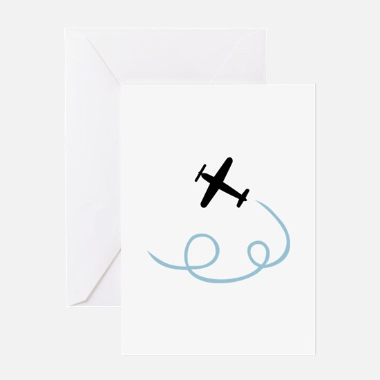Plane aviation Greeting Card