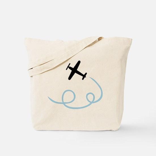 Plane aviation Tote Bag
