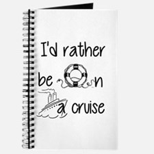 I'd Rather Be On A Cruise Journal