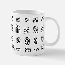 West Africa Adinkra Symbols Mugs
