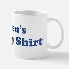 Warren birthday shirt Mug