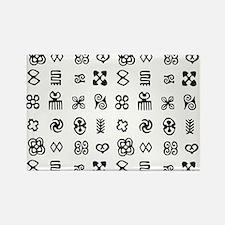 West Africa Adinkra Symbols Magnets