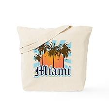 Miami Florida Souvenir Tote Bag