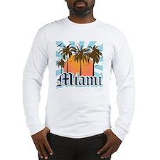 Miami Florida Souvenir Long Sleeve T-Shirt