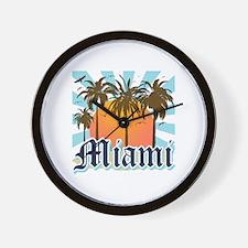 Miami Florida Souvenir Wall Clock