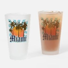 Miami Florida Souvenir Drinking Glass