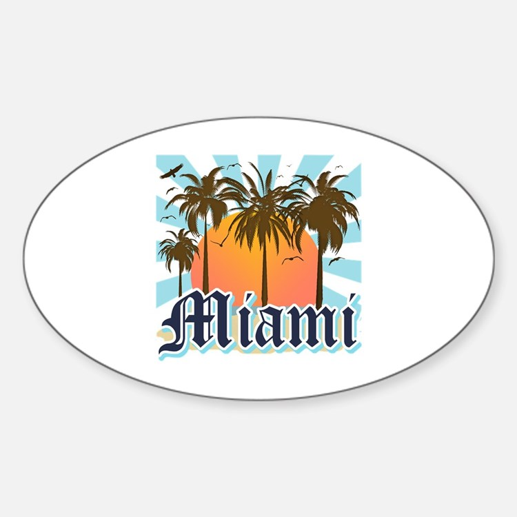 Miami Florida Souvenir Decal