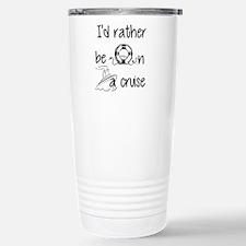 I'd Rather Be On A Cruise Travel Mug