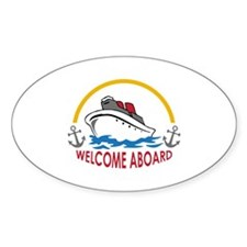 WELCOME ABOARD Decal