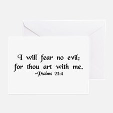"""I Fear No Evil"" Greeting Cards (Pk of 10)"