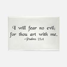 """""""I Fear No Evil"""" Rectangle Magnet (10 pack)"""