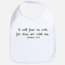 """I Fear No Evil"" Bib"