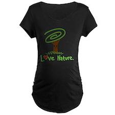 Love Nature Maternity T-Shirt