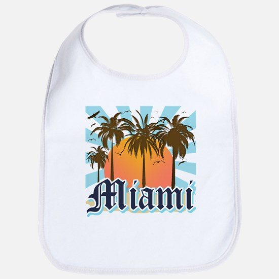 Miami Florida Souvenir Bib