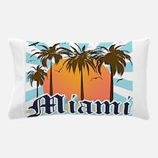 Miami Florida Souvenir Pillow Case