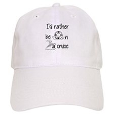 I'd Rather Be On A Cruise Baseball Baseball Cap