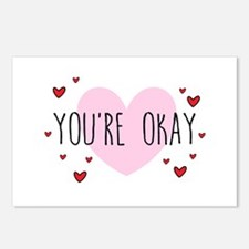 You're Okay Postcards (Package of 8)