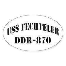 USS FECHTELER Decal