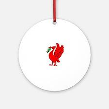 Liverpool Liverbird Ornament (Round)