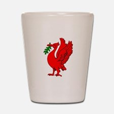 Liverpool Liverbird Shot Glass