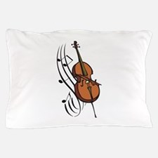 CELLO AND MUSIC Pillow Case