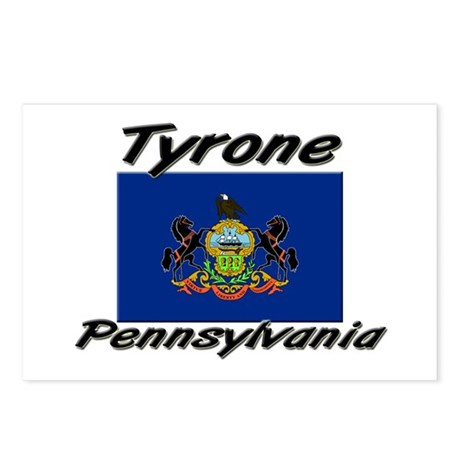 Tyrone Pennsylvania Postcards (Package of 8)