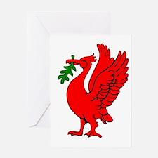 Liverpool Liverbird Greeting Cards