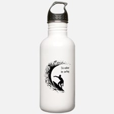 I'd Rather Be Surfing Water Bottle