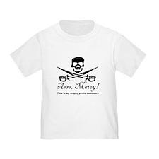 Crappy Pirate Costume T