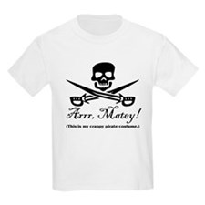 Crappy Pirate Costume T-Shirt
