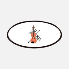 VIOLIN AND MUSIC Patch