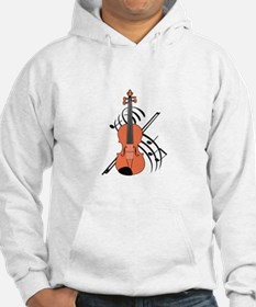 VIOLIN AND MUSIC Hoodie