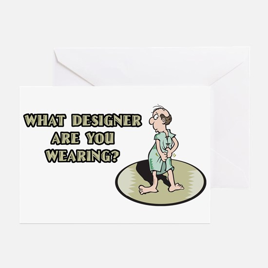 Hospital Humor Gifts & T-shir Greeting Cards (Pk o