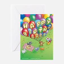 """Cuddle Bunch """"Happy Birthday"""" Card"""