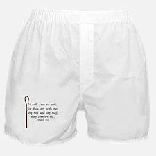 """""""I Fear No Evil"""" Boxer Shorts"""