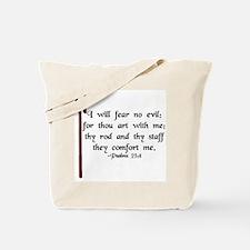 """""""I Fear No Evil"""" Tote Bag"""