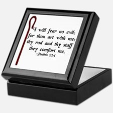"""I Fear No Evil"" Keepsake Box"