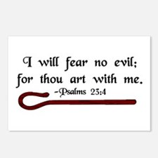 """I Fear No Evil"" Postcards (Package of 8)"