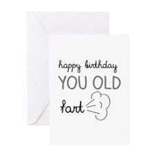 Old Fart Greeting Cards