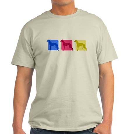 Color Row Whippet Light T-Shirt