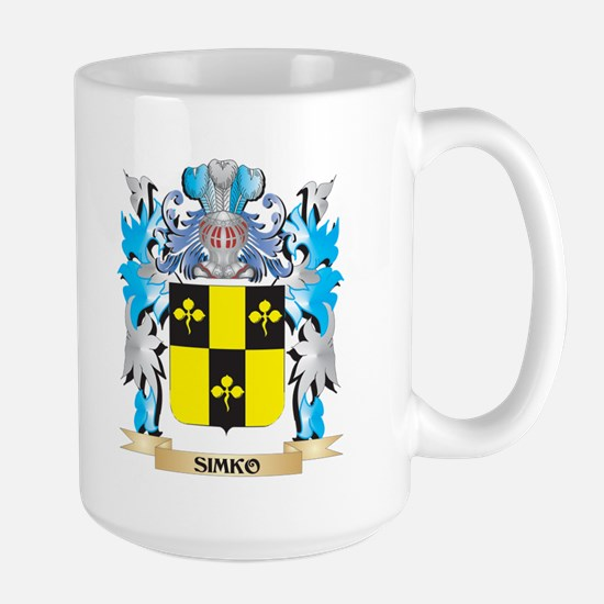Simko Coat of Arms - Family Crest Mugs