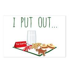 Santa's Snacks Postcards (Package of 8)