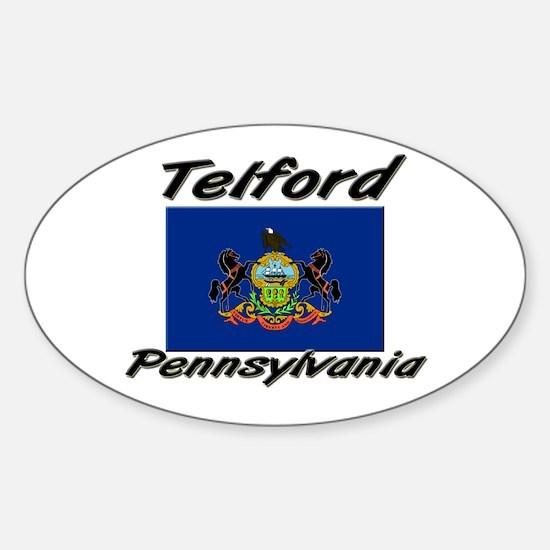 Telford Pennsylvania Oval Decal