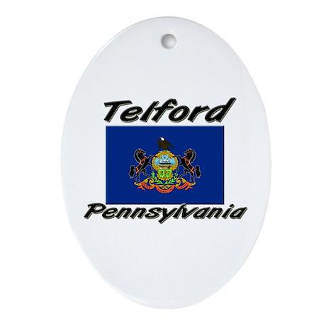 Telford Pennsylvania Oval Ornament