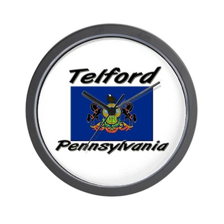 Telford Pennsylvania Wall Clock