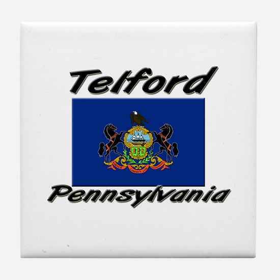 Telford Pennsylvania Tile Coaster