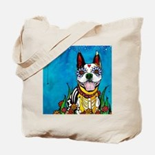 Cool Boston terrier Tote Bag