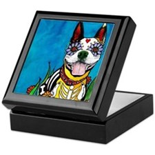 Cute French bulldog Keepsake Box